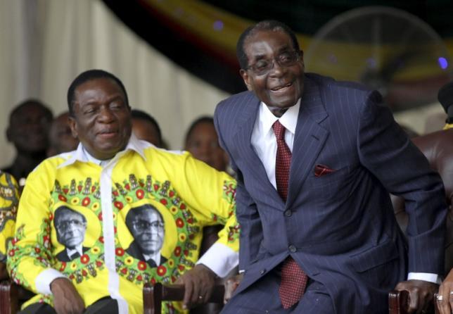 mnangagwa to succeed mugabe
