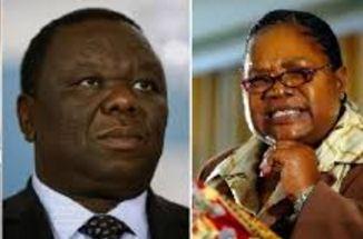 mujuru zimpf tsvangirai mdc demo rally ziomnews