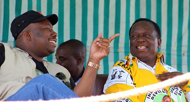 kasukuwere mnangagwa fight mugabe