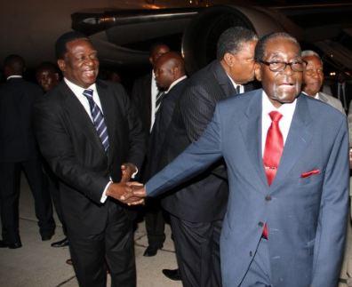 latest mugabe mnangagwa takeover