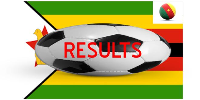 zimbabwe warriors cameroon lions scores report match
