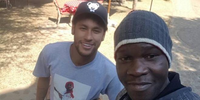Neymar in Victoria Falls